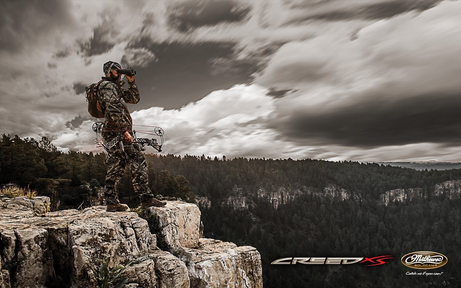Res: 1920x1200, Bow Hunting Wallpaper