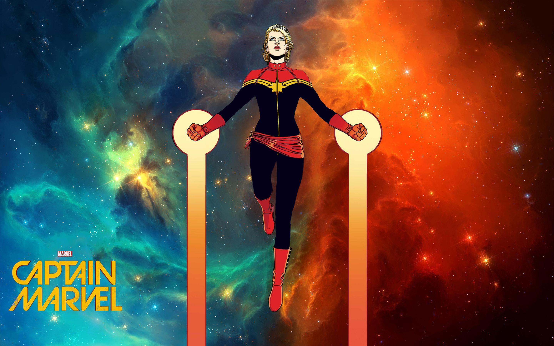 Res: 2880x1800, Comics - Captain Marvel Carol Danvers Wallpaper
