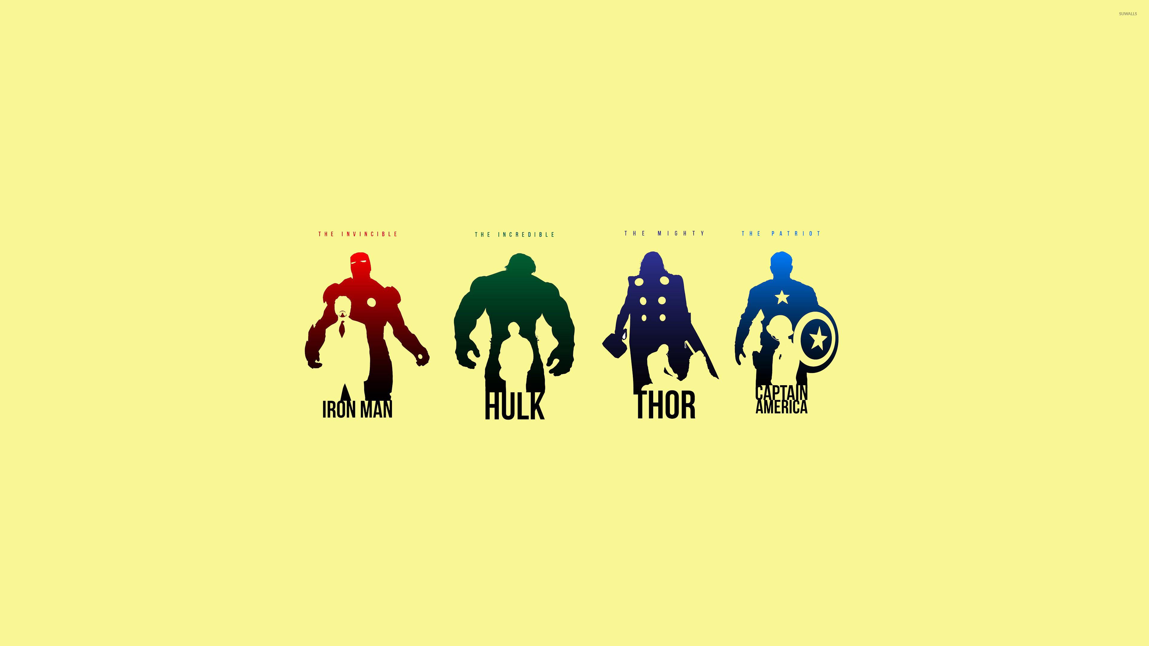 Res: 3840x2160, Minimalist Marvel Wallpaper - WallpaperSafari