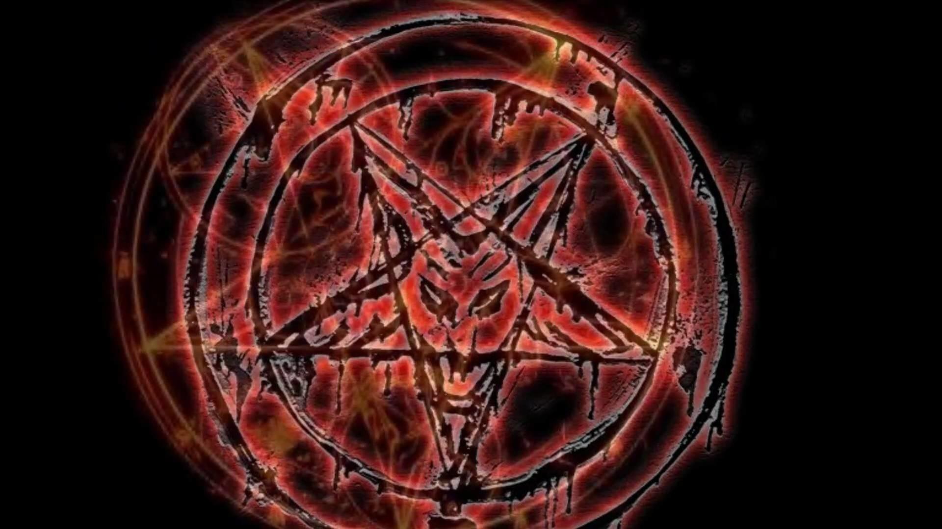 Res: 1920x1080, 1920x1536 Thrash Metal Heavy Death Black Dark Evil Poster Demon Satanic  Satan Skull Pentagram Wallpaper At Dark Wallpapers