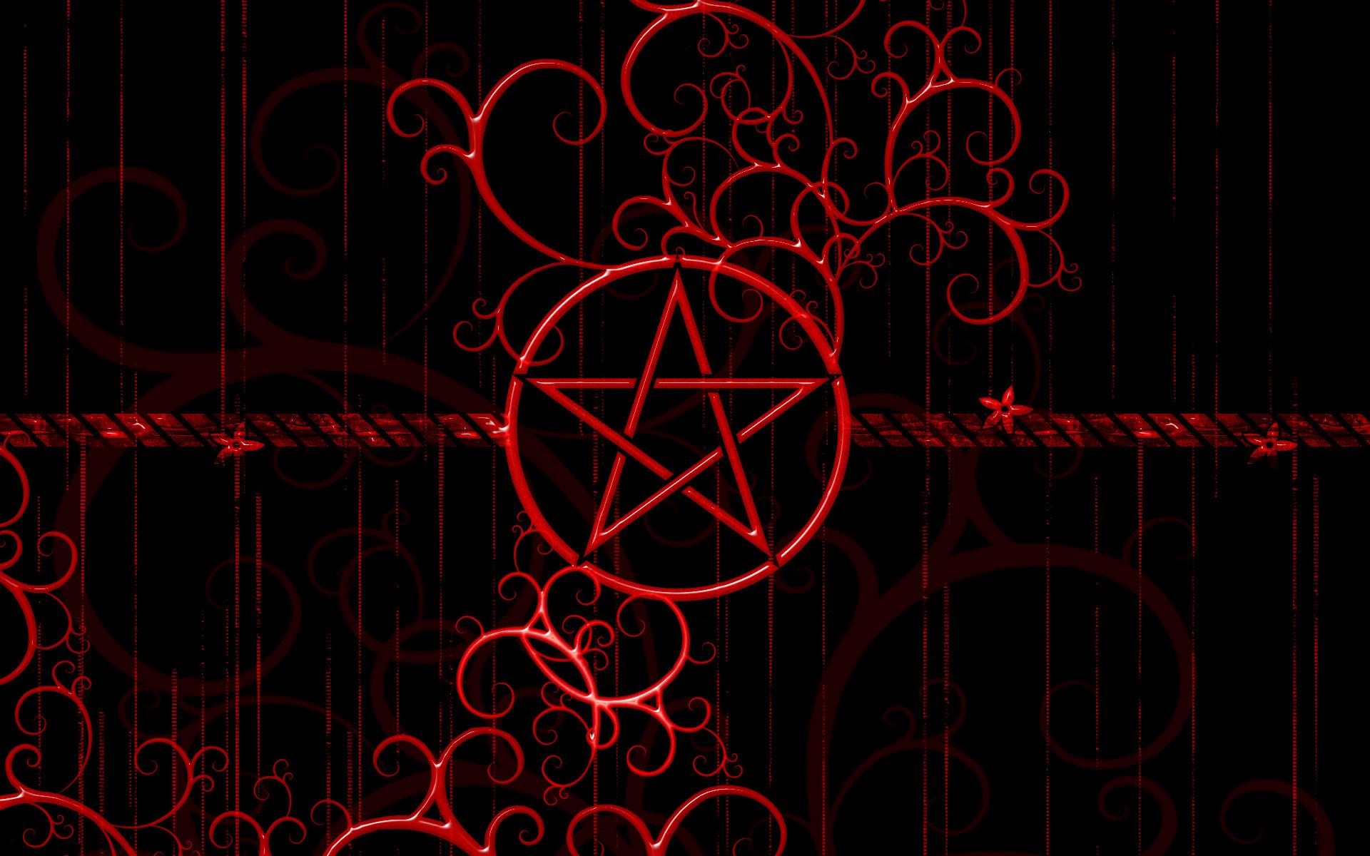 Res: 1920x1200, Abstract Satan Pentagram HD Wallpaper on MobDecor