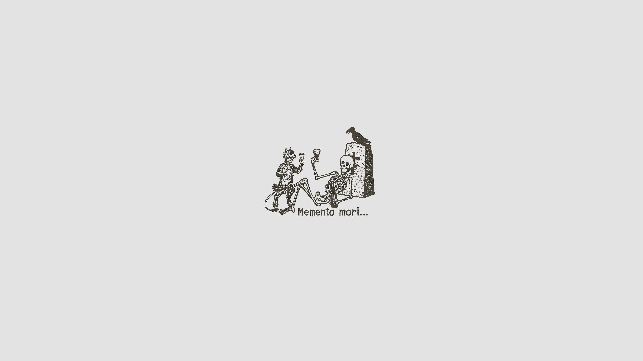 Res: 2560x1440, Memento mori wallpaper