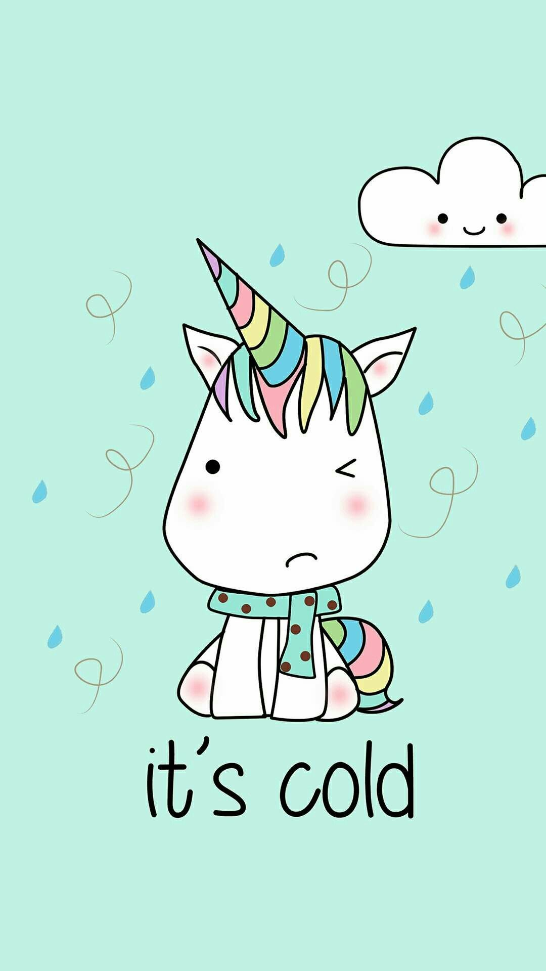 Res: 1080x1920, Phone Backgrounds, Wallpaper Backgrounds, Iphone Wallpapers, Hd Wallpaper  Girly, Kawaii Wallpaper, Cute Unicorn, Mobile Wallpaper, Itunes, Baby  Elephants