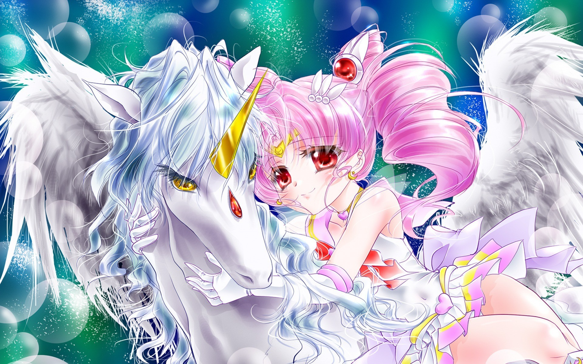 Res: 1920x1200,  Anime Unicorn - Wallpaper, High Definition, High Quality,  Widescreen