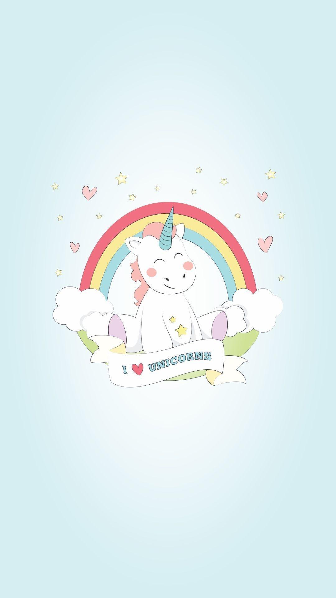 Res: 1080x1920, Kawaii Unicorn Wallpaper 69+ - xshyfc.com