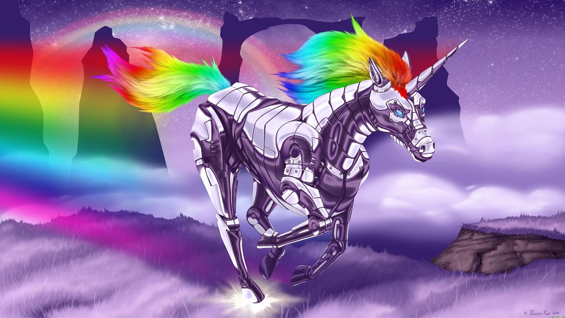 Res: 1920x1080, Robot Unicorn Wallpaper - Unicorns Wallpaper (24171150) - Fanpop