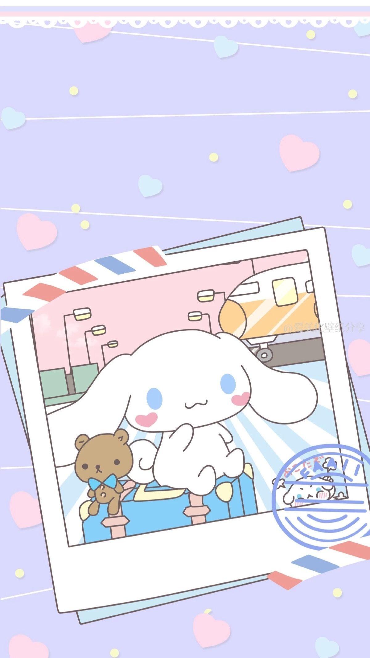 Res: 1200x2133, Kawaii Wallpaper, Sanrio Wallpaper, Kawaii Things, Cinnamon, Iphone  Wallpapers, Anime Art, Hello Kitty, Rainbow, Fabrics