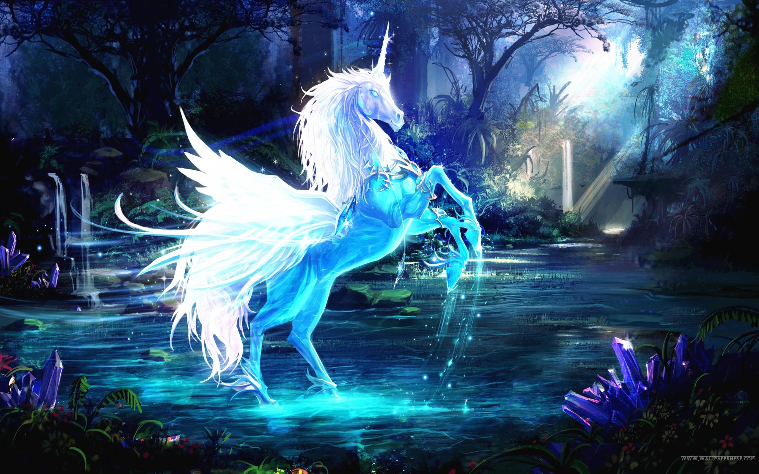 Res: 2560x1600, Unicorn Wallpapers - Wallpaper Cave