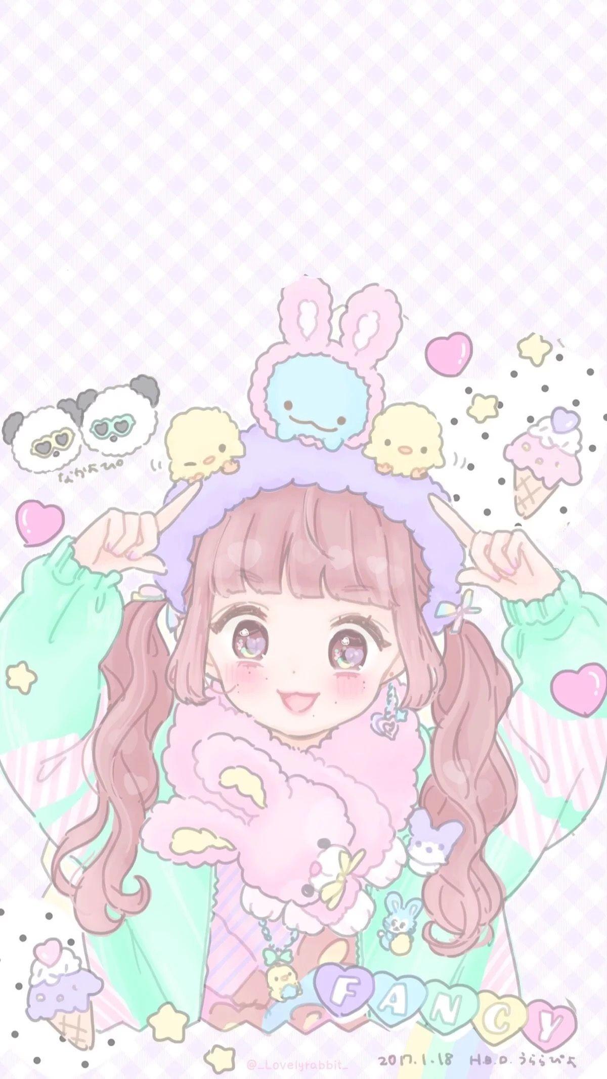 Res: 1200x2133, Kawaii Art, Kawaii Anime, Kawaii Drawings, Kawaii Wallpaper, Pastel Art,  Melanie Martinez, Phone Wallpapers, Fairy Oak, Anime Art