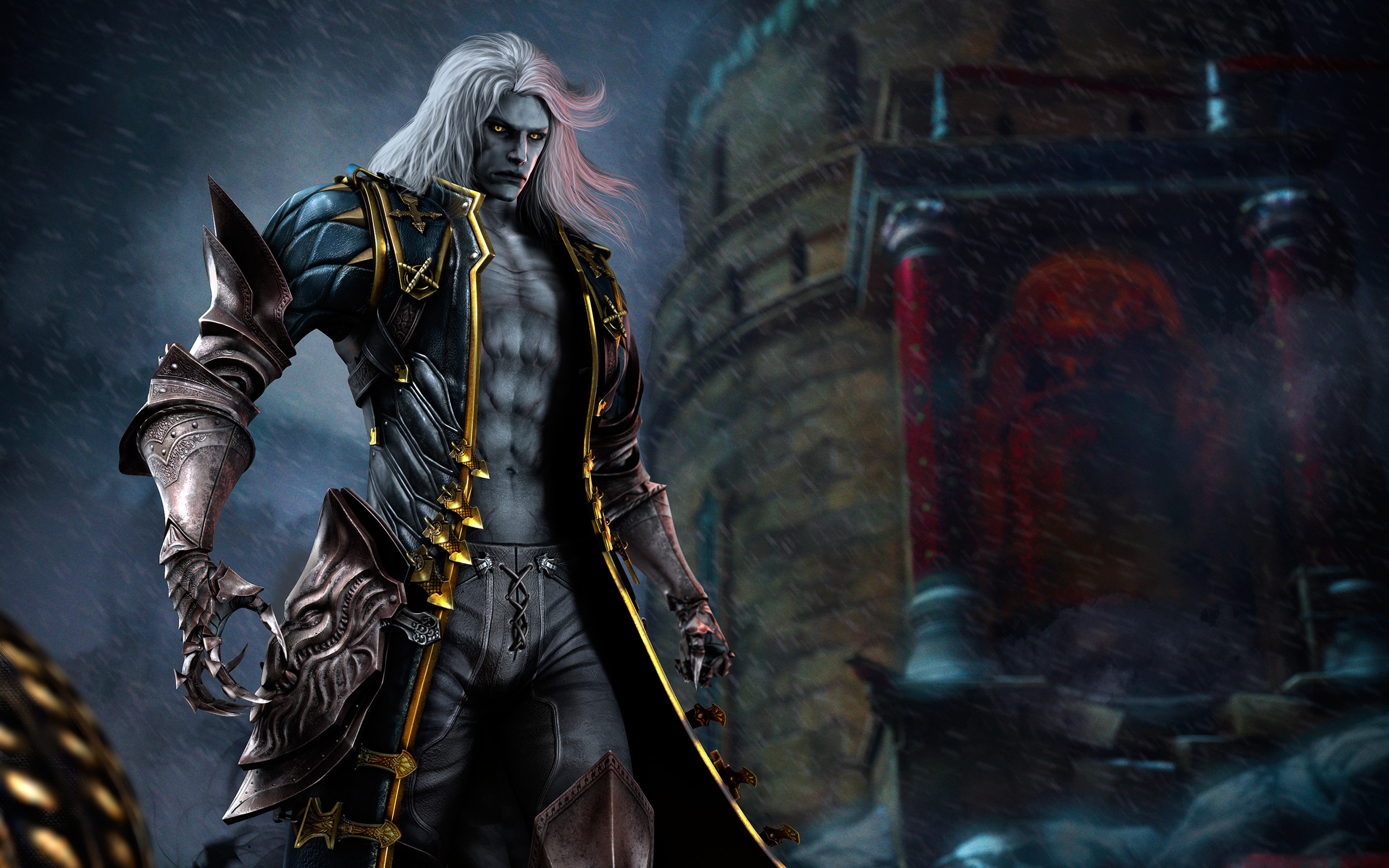 Res: 2880x1800, Alucard in Castlevania Lords of Shadow 2