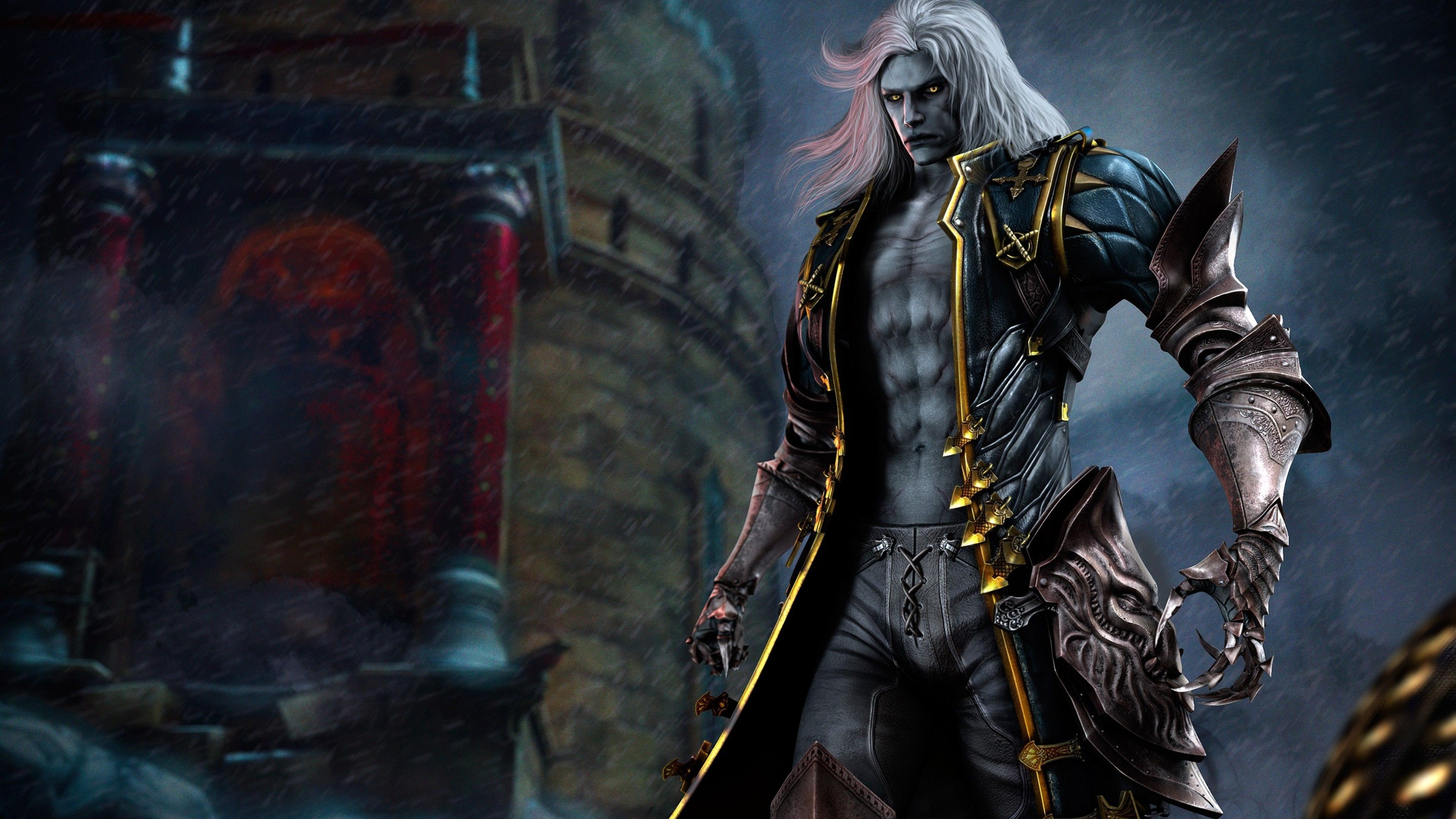 Res: 3840x2160, Alucard In Castlevania Lords Of Shadow 2 Wallpaper   Games HD