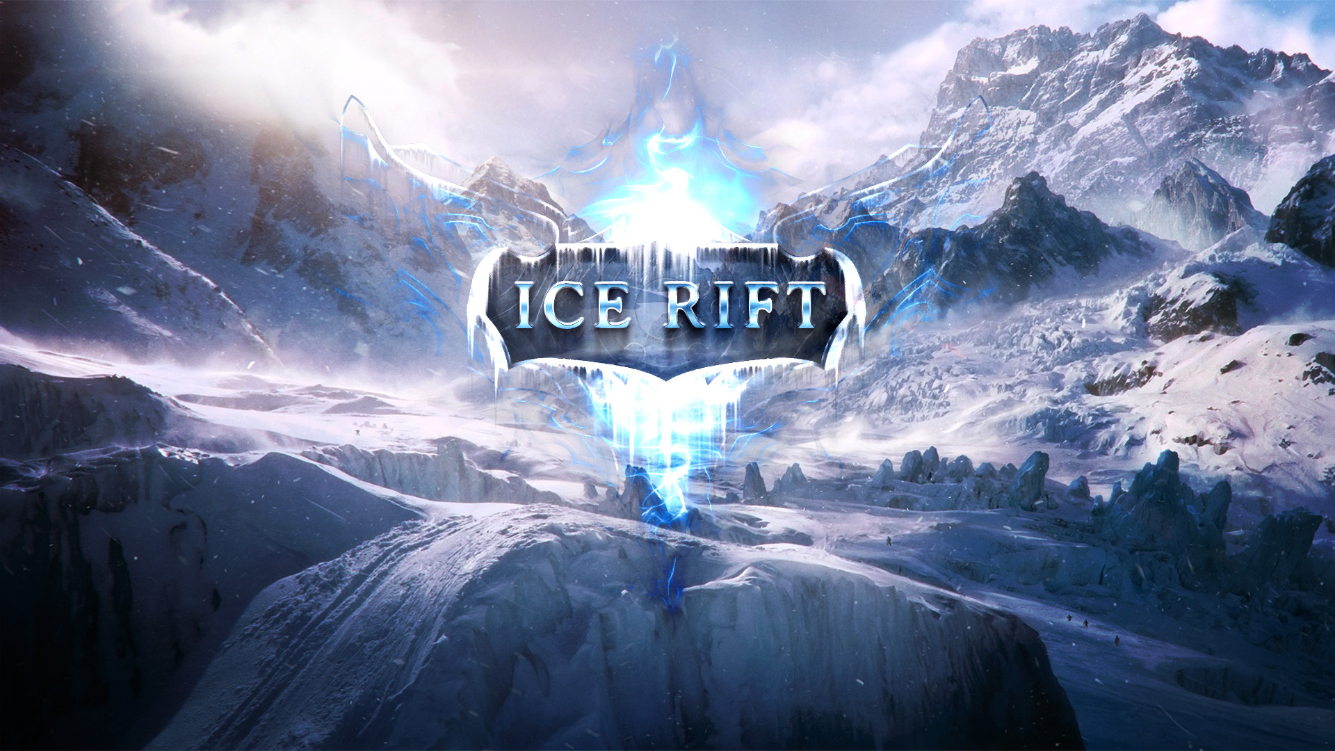 Res: 1920x1080, Ice Rift logo wallpaper by Dexistor371 Ice Rift logo wallpaper by  Dexistor371
