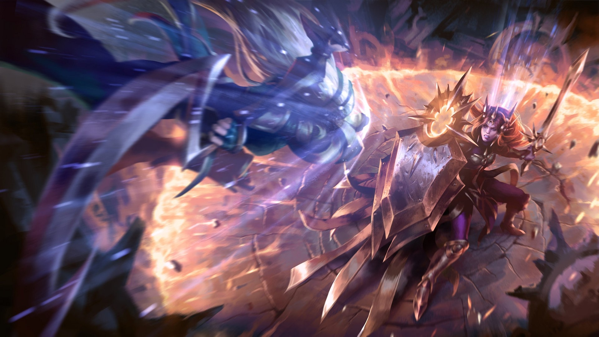 Res: 1920x1080, Anime  Diana (league Of Legends Summoner's Rift Leona (League of  Legends) League