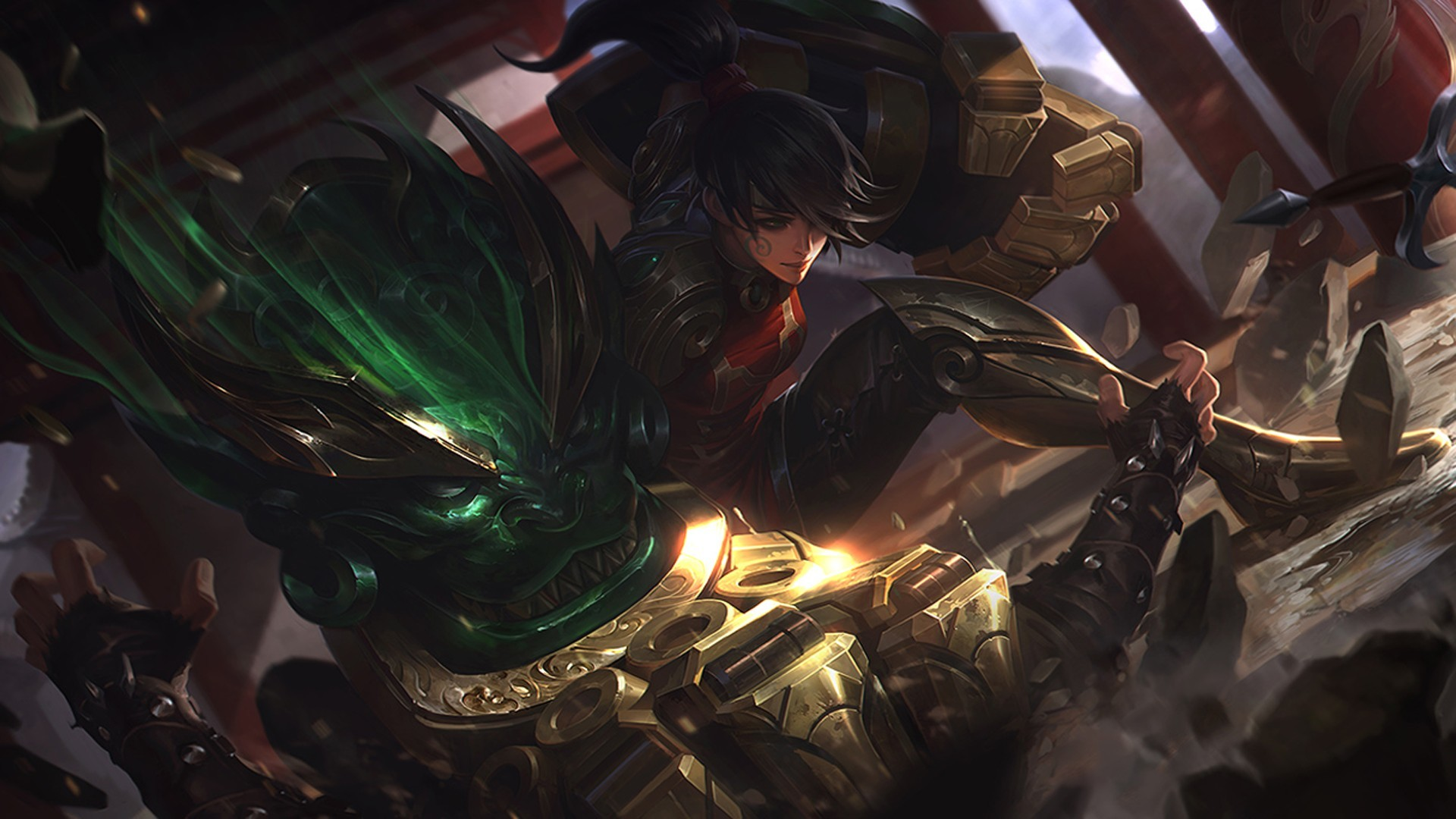 Res: 1920x1080, Vi (League of Legends), Summoners Rift Wallpapers HD / Desktop and Mobile  Backgrounds