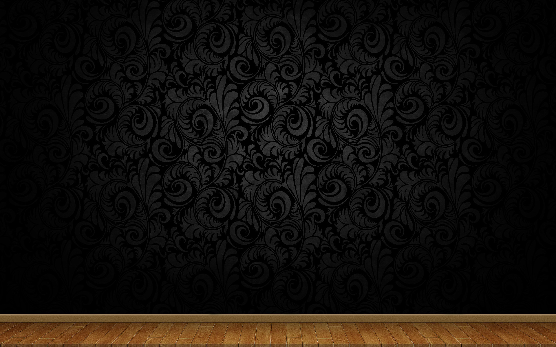 Res: 1920x1200, 3d view abstract dark floor minimalistic patterns wood