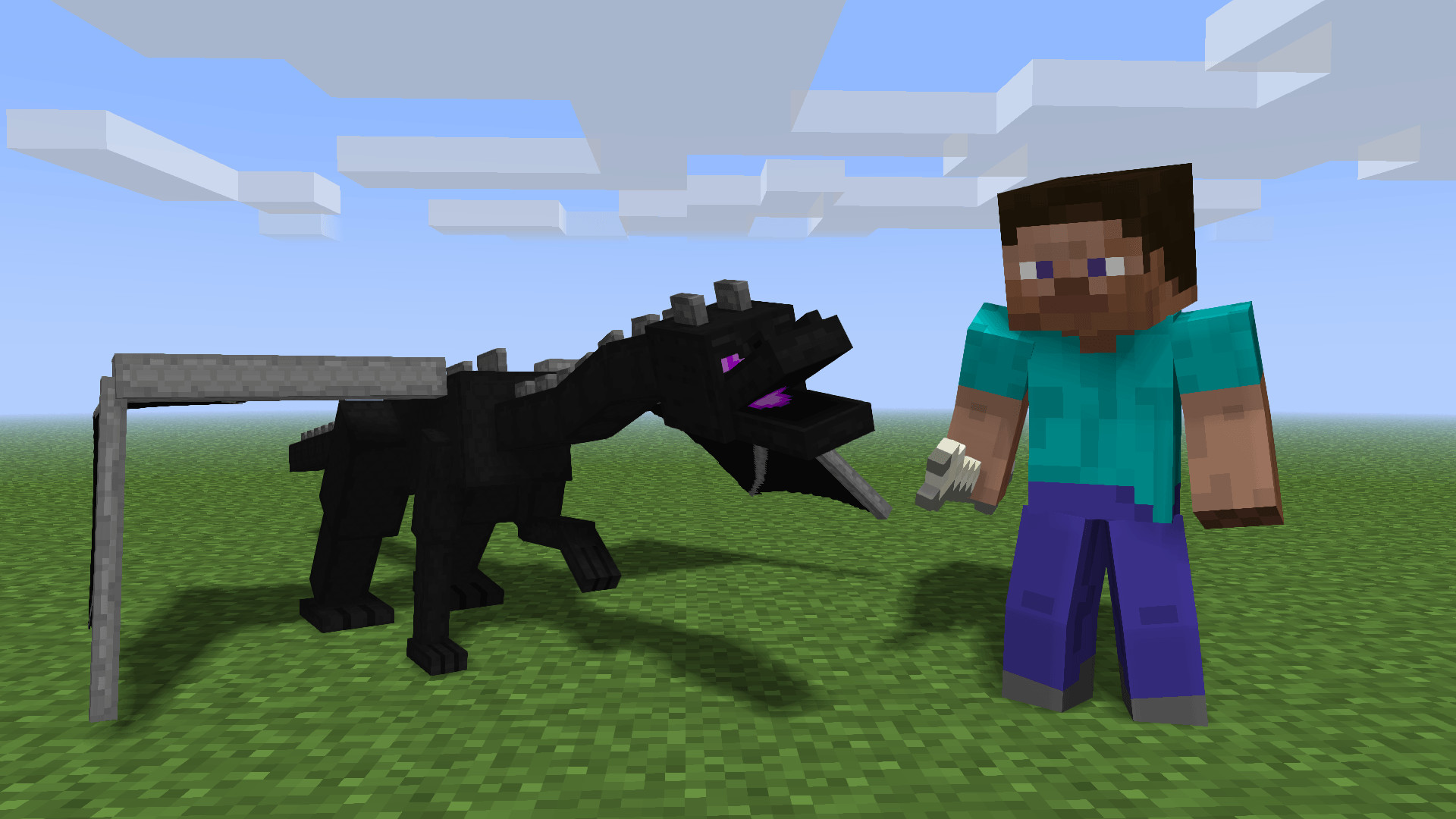 Res: 1920x1080, How to train your EnderDragon! -(wallpaper)- - Wallpapers and art .