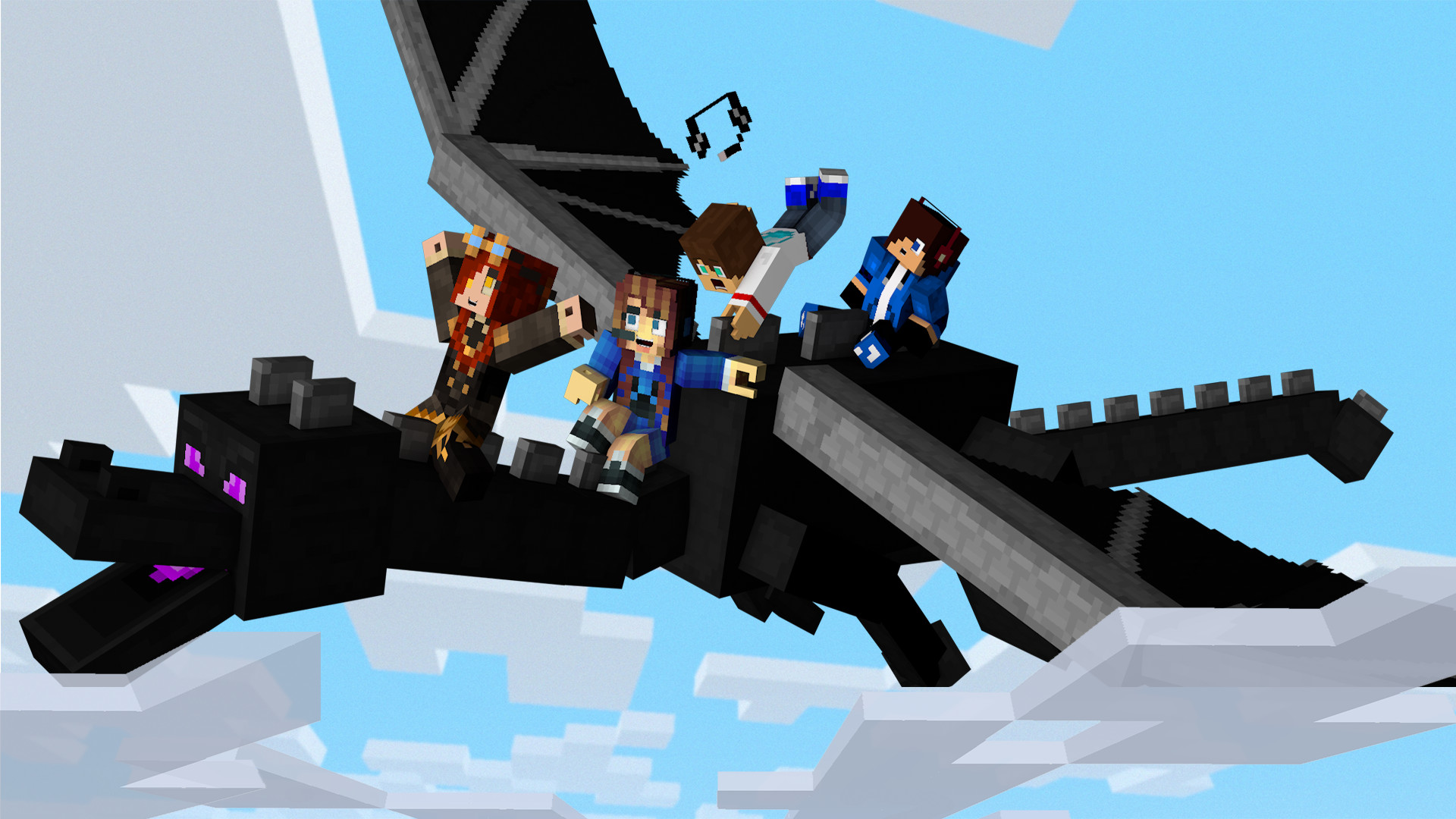 Res: 1920x1080, Ender Dragon Ride by brodielawrence Ender Dragon Ride by brodielawrence