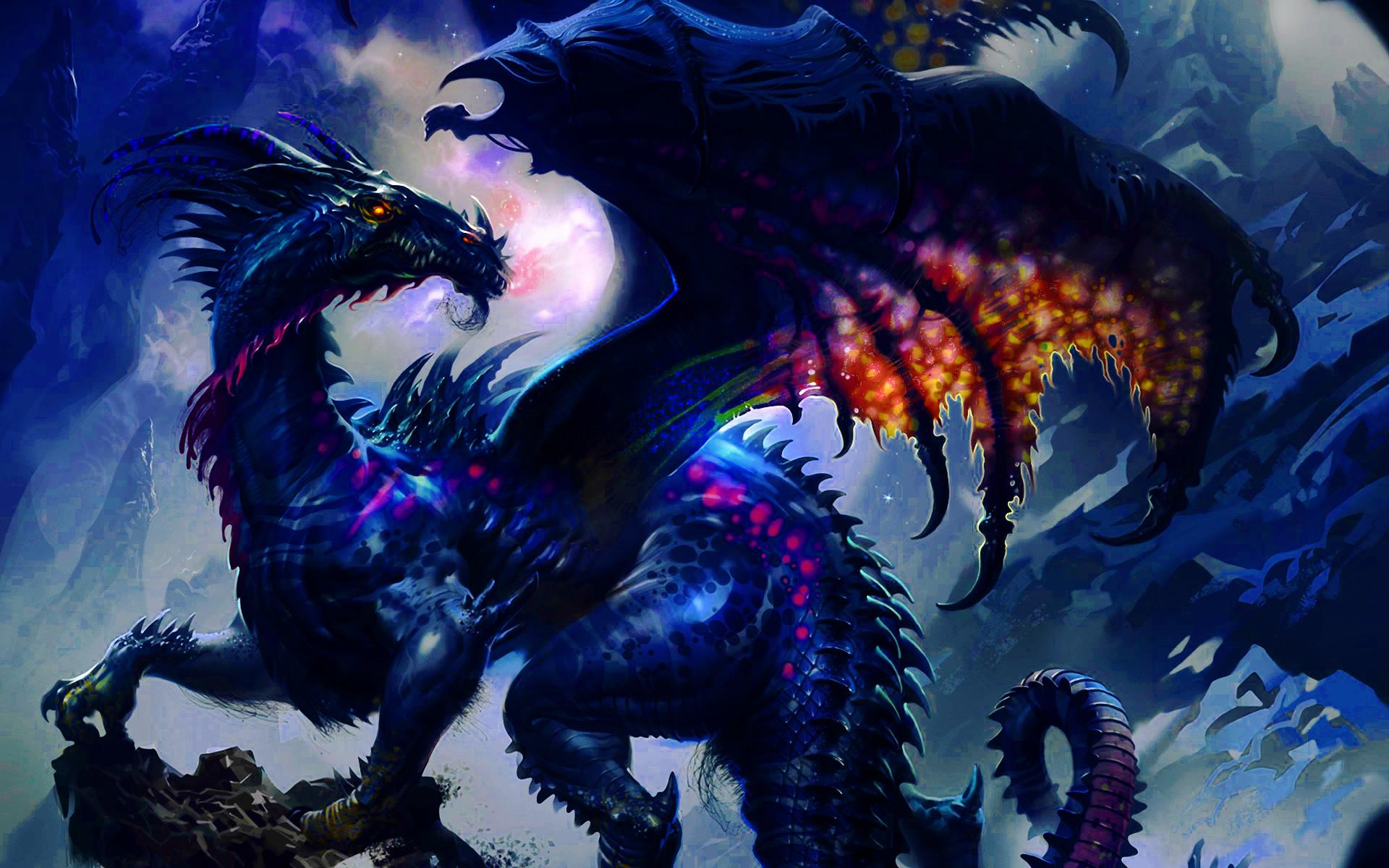 Res: 1920x1200, Ender Dragon Concept Art