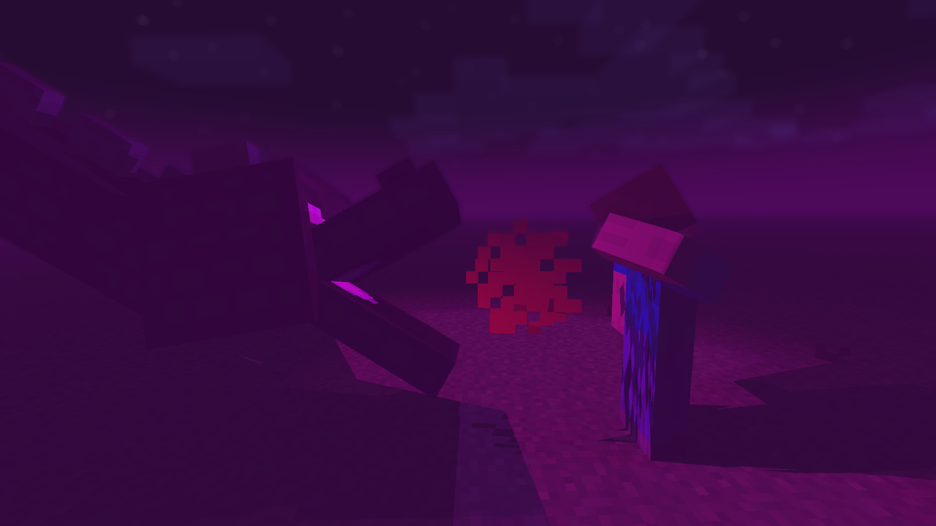 Res: 1920x1080, This features Ender Dragon with particles to make ender dragon breathe fire  to Steve while he is blocking it