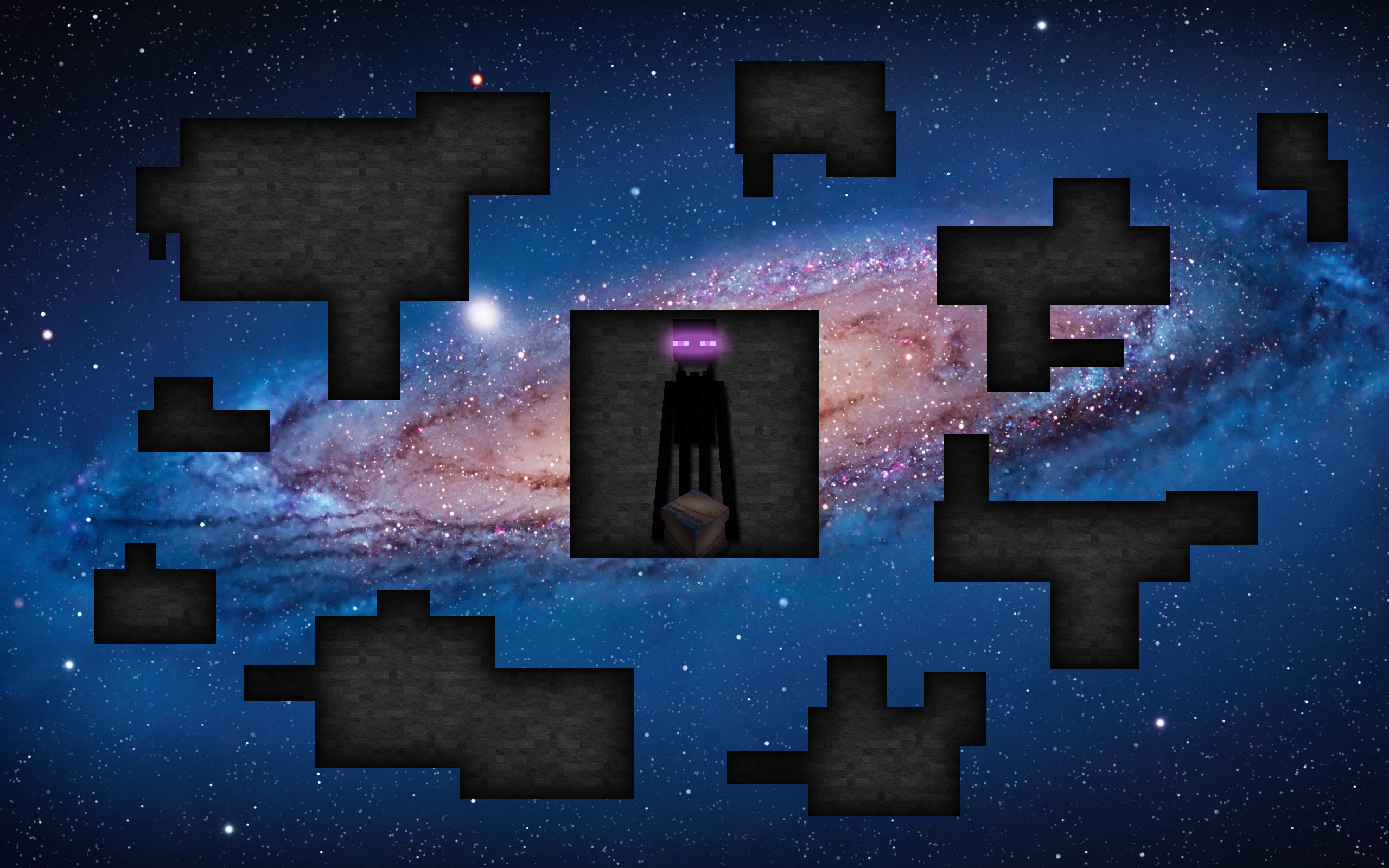 Res: 2560x1600, Minecraft Enderman Wallpaper by adscomics Minecraft Enderman Wallpaper by  adscomics
