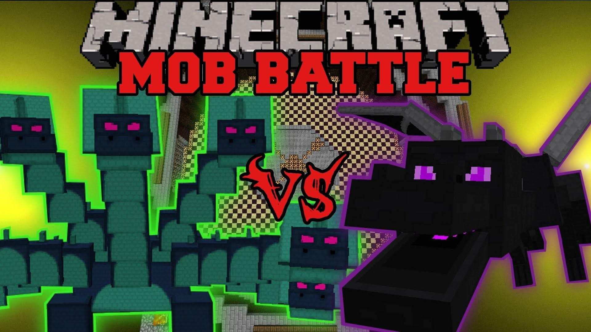 Res: 1920x1080, ENDER DRAGON VS HYDRA - Minecraft Mob Battles - Arena Battle - Twilight  Forest Mod Battles - YouTube