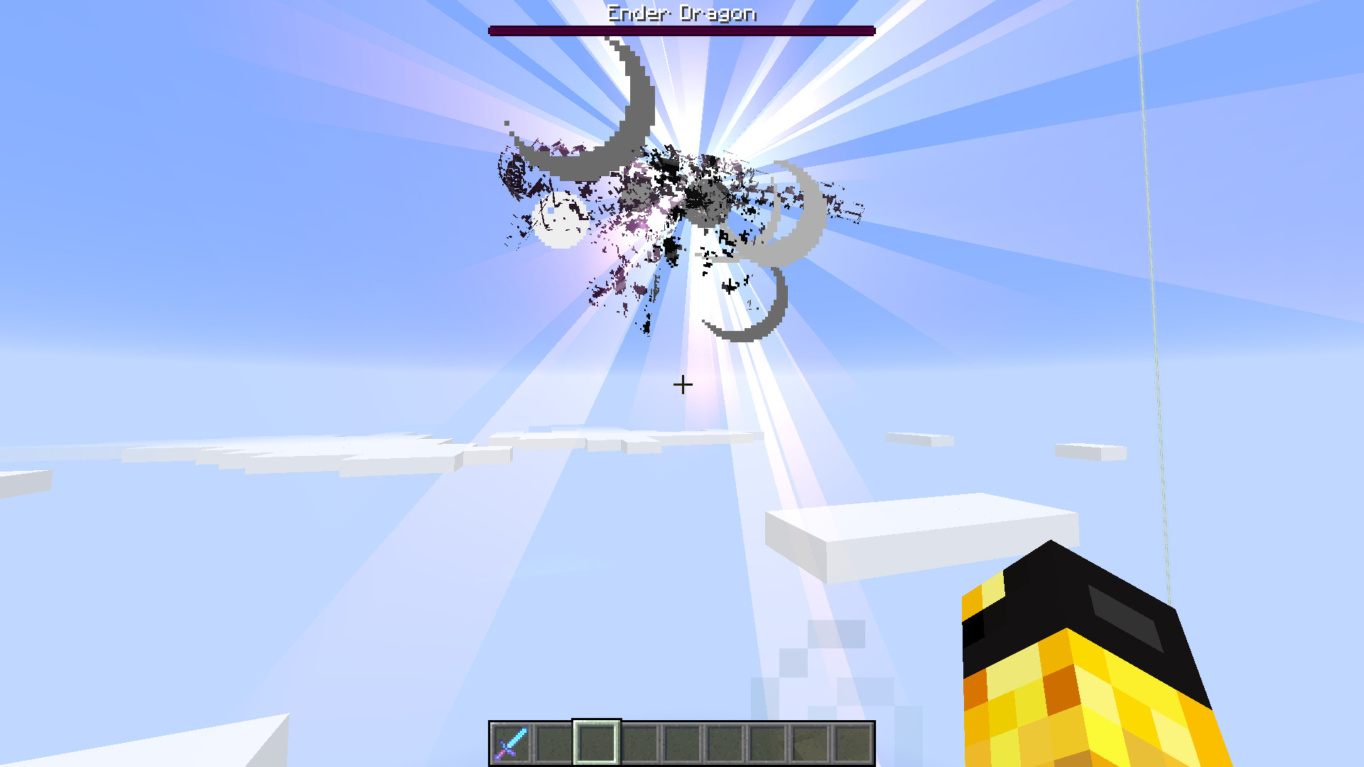 Res: 1920x1080, ... free Minecraft Ender Dragon In The Overworld ...