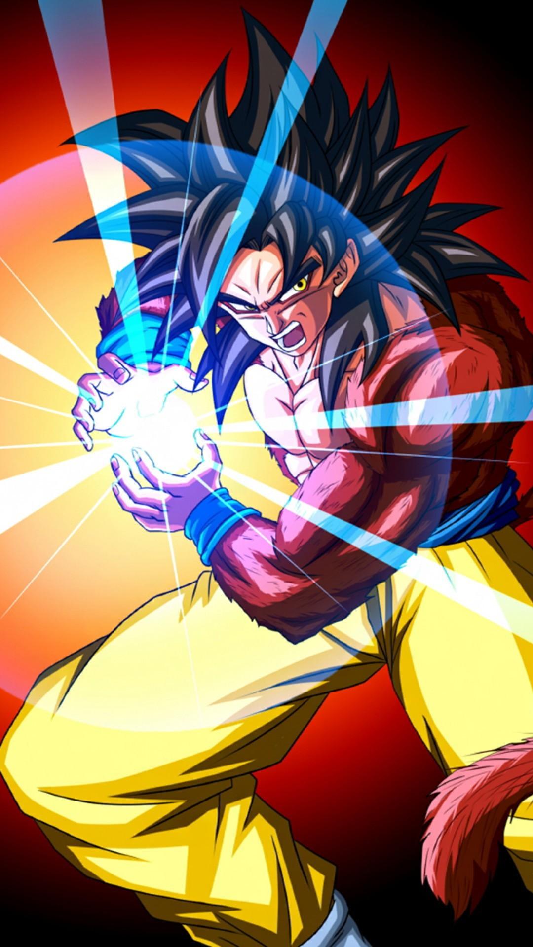 Res: 1080x1920, Goku Super Saiyan 4 iPhone 6 Wallpaper Super Saiyan 4 son Goku iPhone 6  Plus Wallpaper