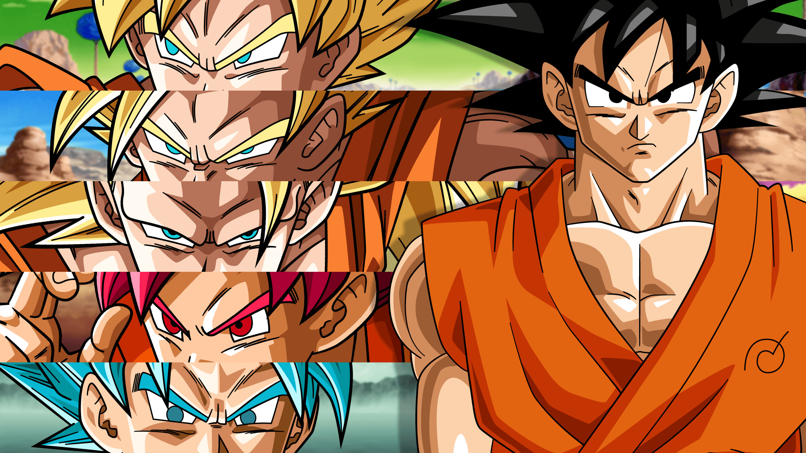 Res: 2560x1440, Dragon Ball Super Goku Wallpapers For Iphone