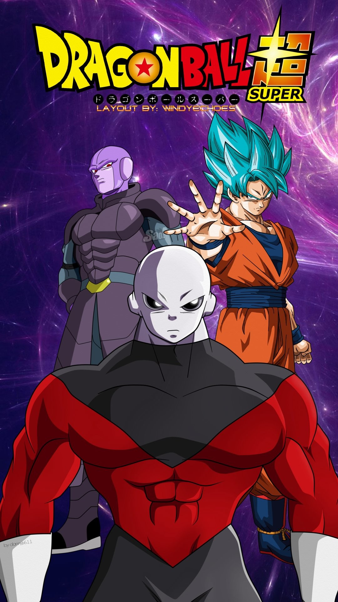 Res: 1080x1920, ... Goku And Jiren Phone Wallpaper by WindyEchoes