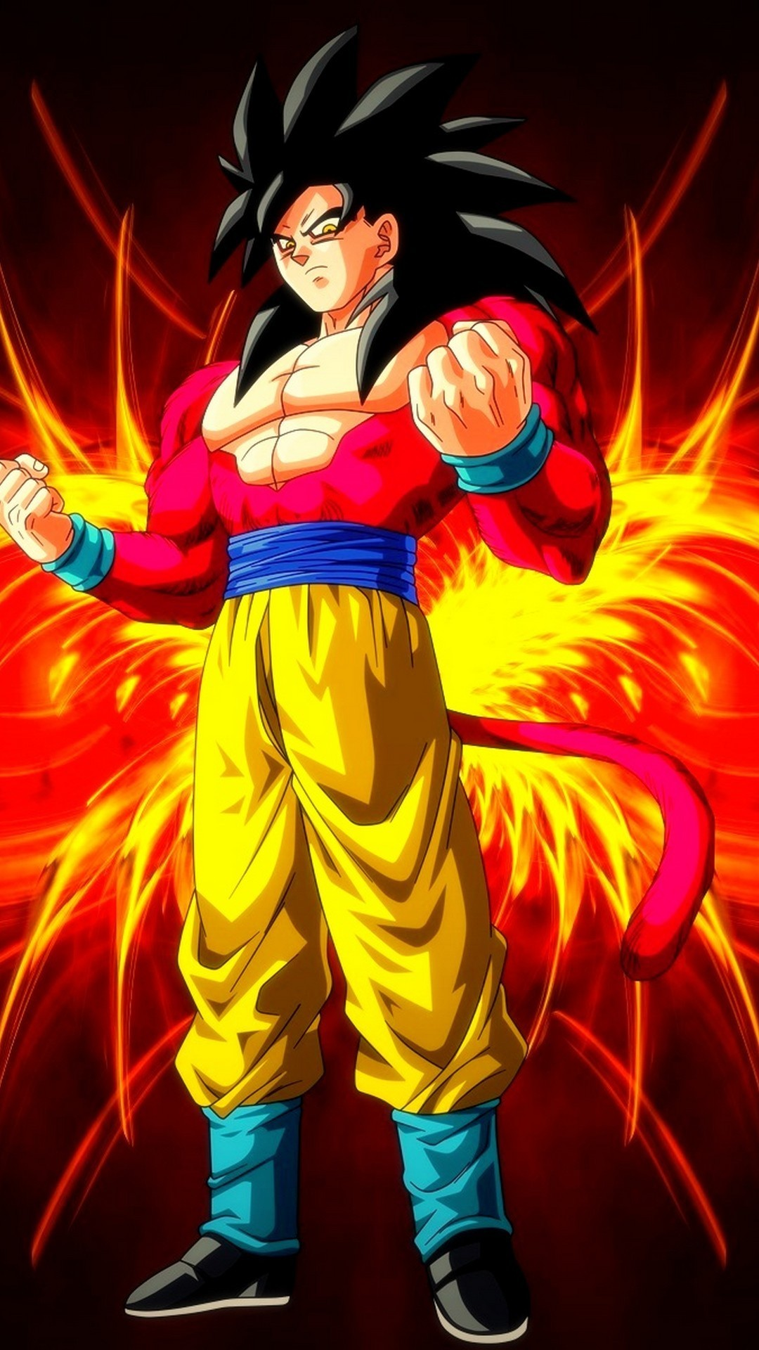 Res: 1080x1920, iPhone 8 Wallpaper Goku SSJ4 with image resolution  pixel. You can  make this wallpaper