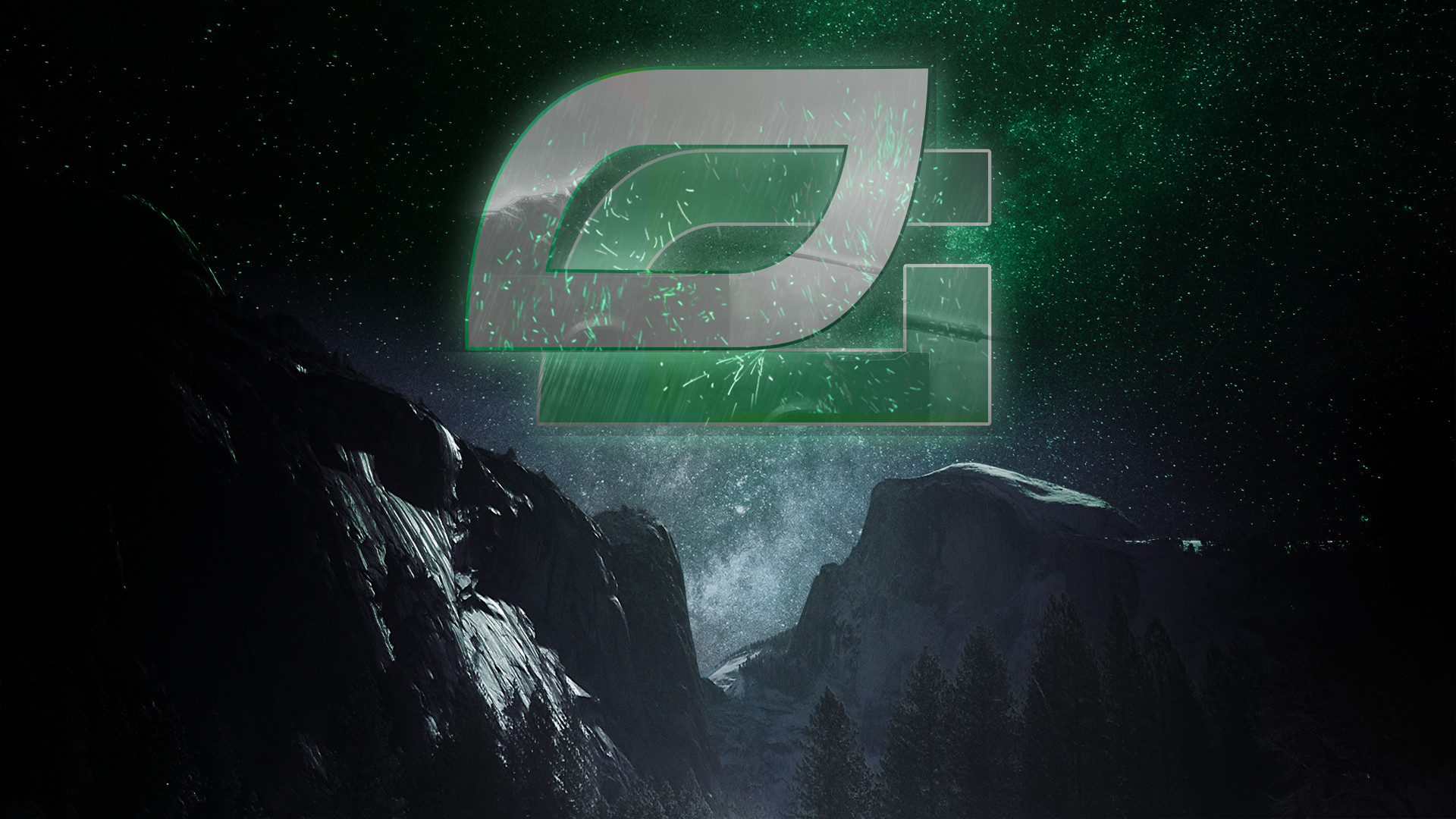 Res: 1920x1080, ... Optic Gaming wallpaper galaxy edition! by FearFoxDesigns
