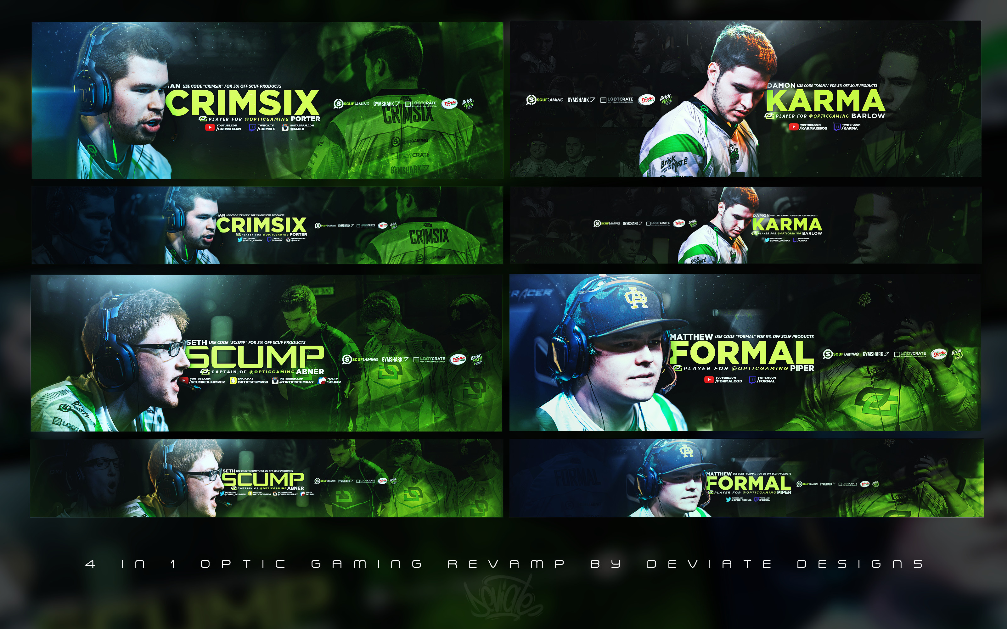 Res: 3200x2000, ... OpTic Gaming Pro Player revamps! by ImDeviate