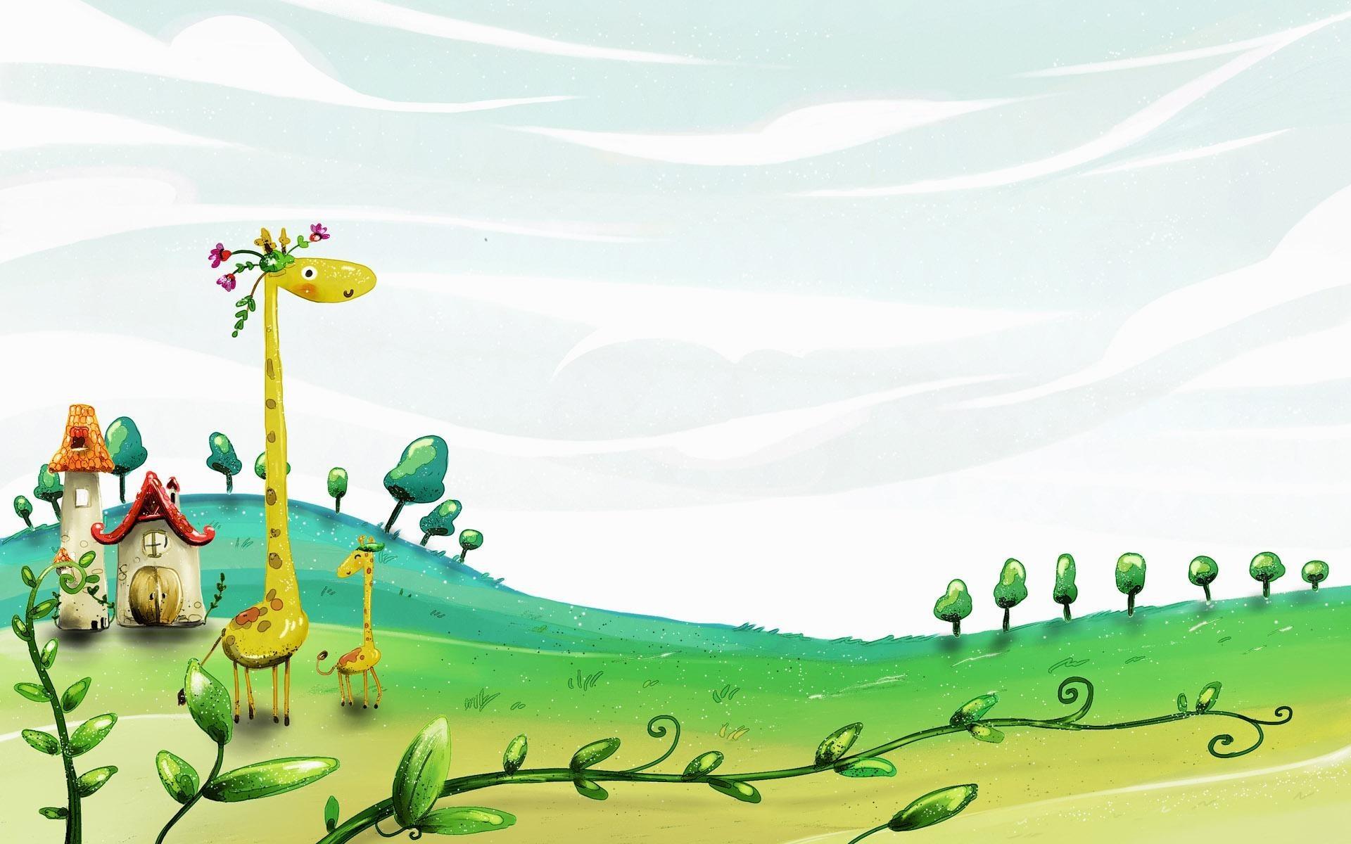 Res: 1920x1200, Cartoon Spring Wallpaper 4