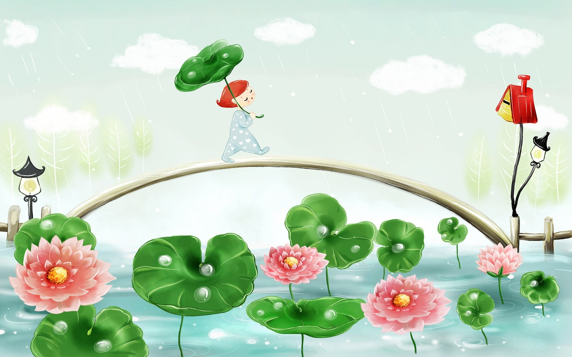Res: 1920x1200, search results for illustration cartoon wallpaper adorable wallpapers