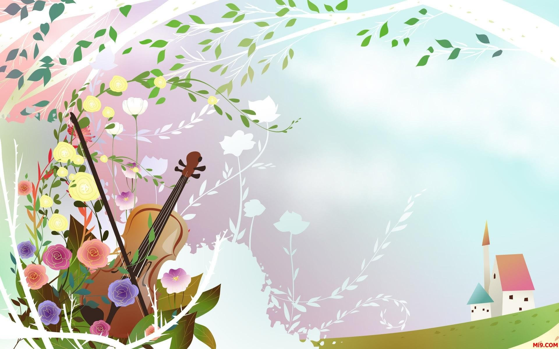 Res: 1920x1200, cartoon beautiful wallpaper voice spring background scenic wallpaper  datawallpapers
