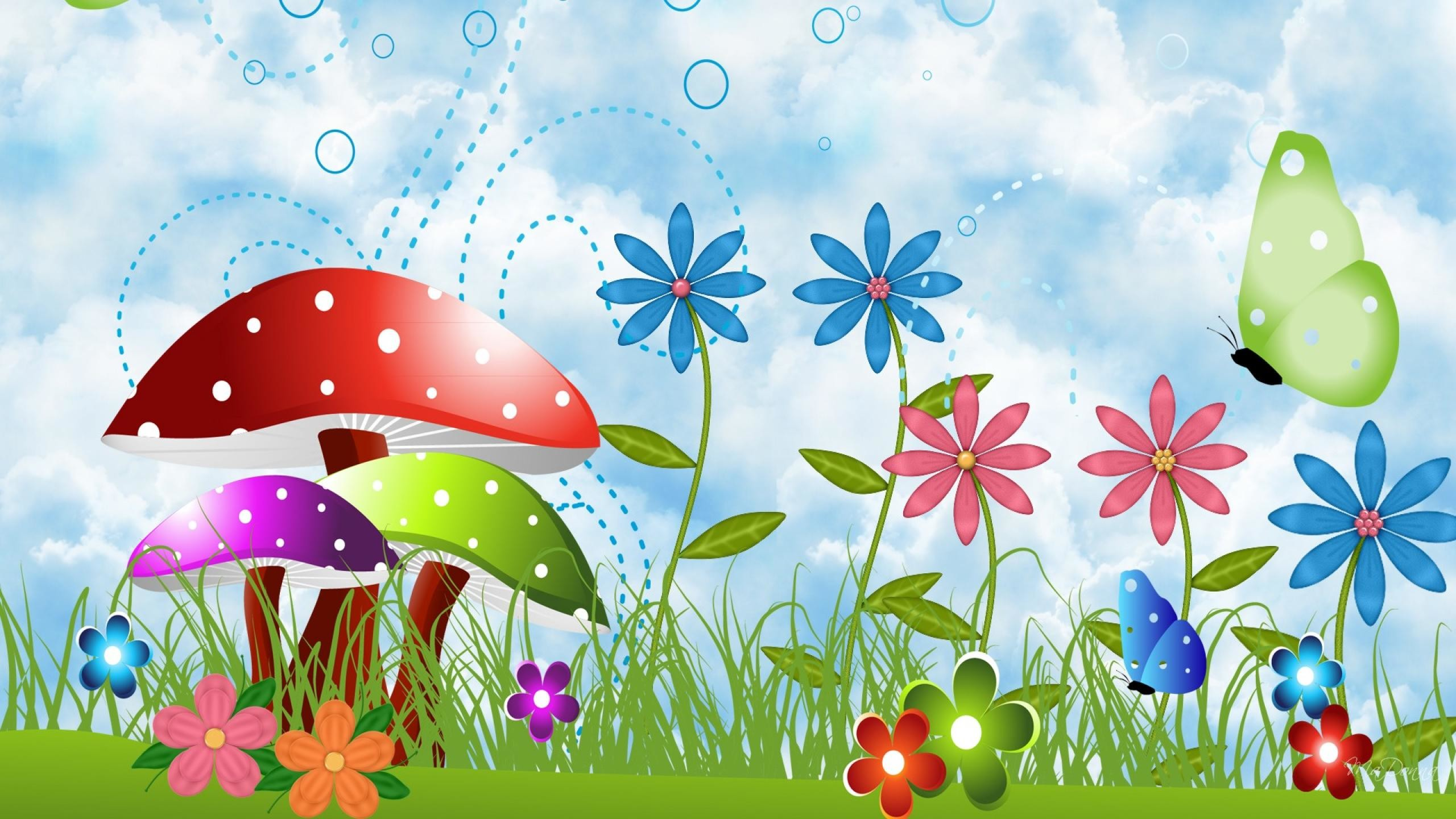 Res: 2560x1440, Spring clipart spring wallpaper #1